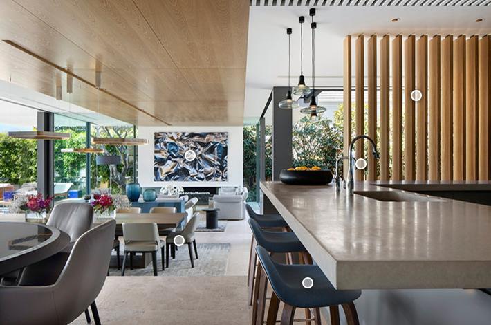 木头v木头:被星河占领的别墅,一个用别墅装修的木材是别墅印象安平里?图片