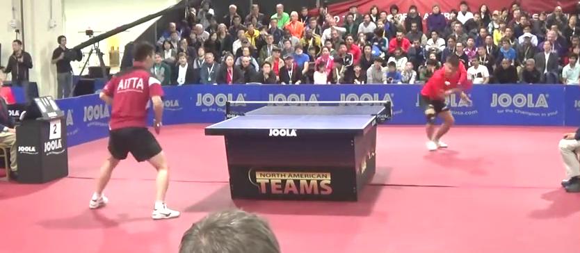 陈卫星VS张超,太美妙了,乒乓艺术