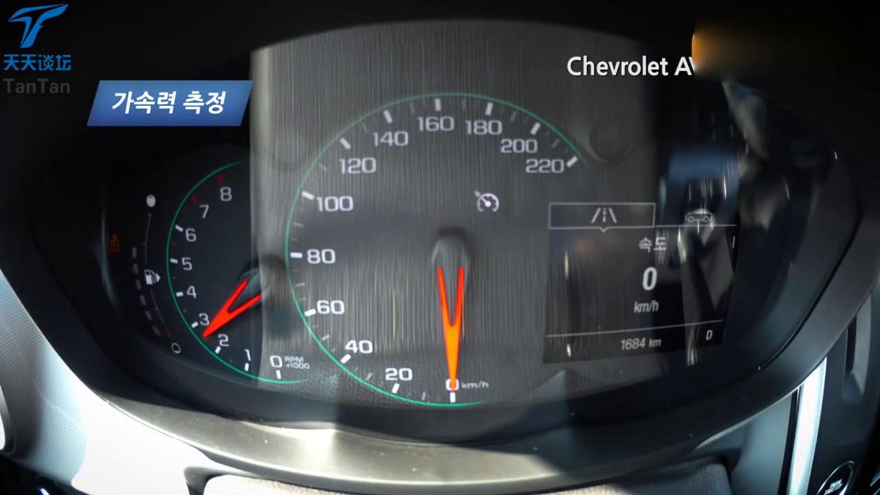 视频:雪佛兰爱唯欧 百公里加速与刹车测试