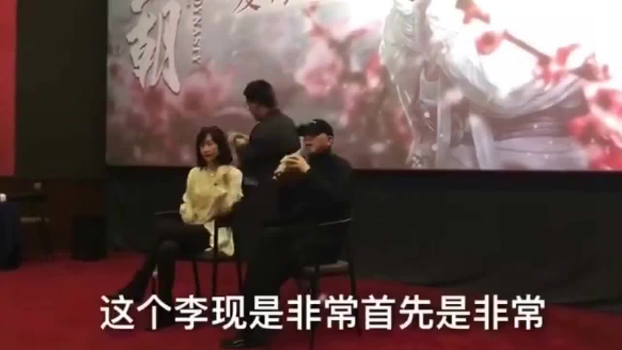 冯小刚导演也认证冯小刚亲口夸李现可塑性强又敬业