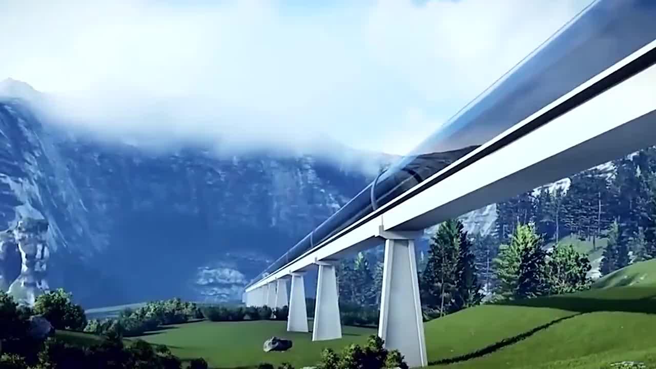 厉害了我的国中国首条超级高铁落户贵州时速1100公里