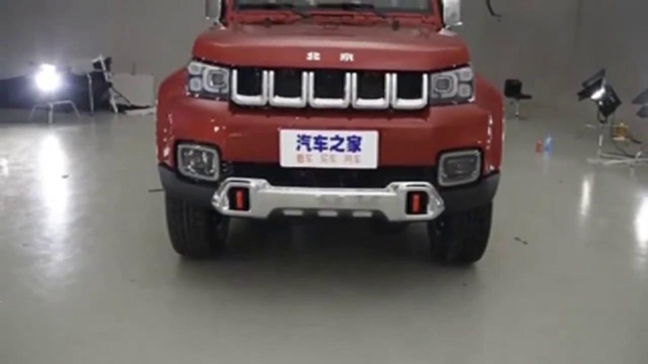 2018款北京BJ40PLUS霸气来袭