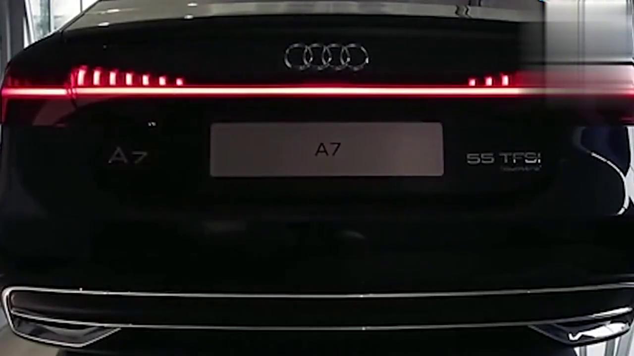 打开2018款奥迪A7的手机灯控系统,简直是良心之作