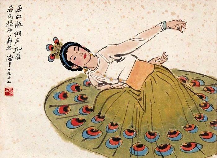笔墨顿挫自如,形象生动传神,叶浅予10幅舞蹈人物画欣赏