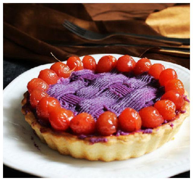 比肯德基还好吃的紫薯派,在家就能做,做法超级简单!