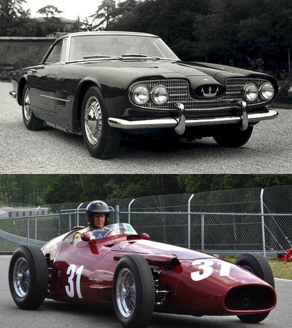最早以F1赛车造型为启发的车鼻设计-玛莎拉蒂5000 GT
