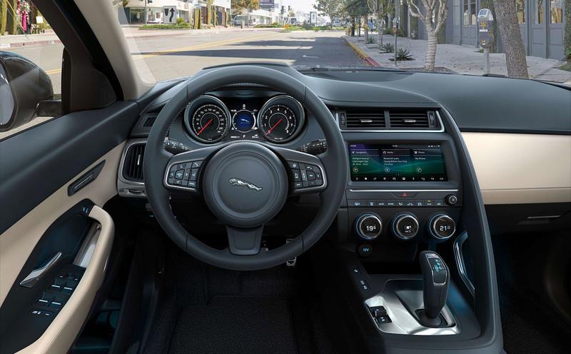 捷豹E-Pace全车系升级标配主动安全防护系统
