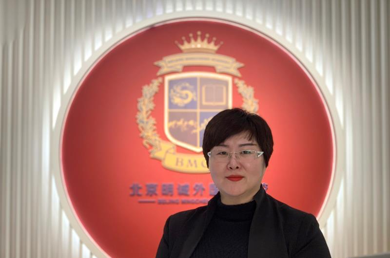 专访北京明诚外国语学校执行校长郑冉应加强孩子整体素质培养