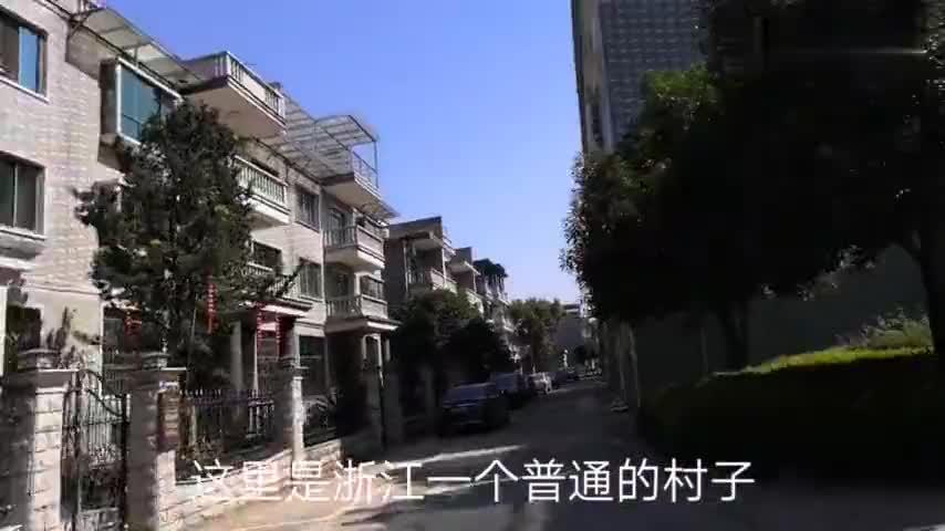 浙江普通的农村真的都是这样吗前段时间自驾旅行到了这里