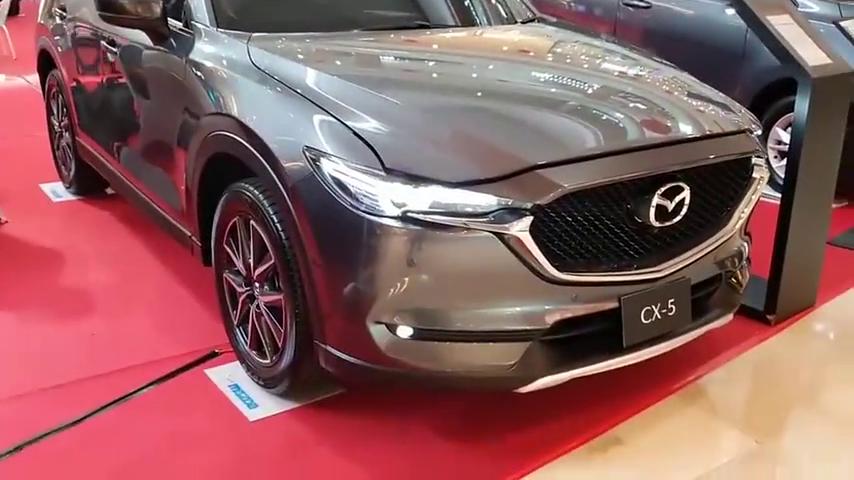 视频:2020款马自达CX-5GT亮相大商场,了解完配置后,简直太帅了