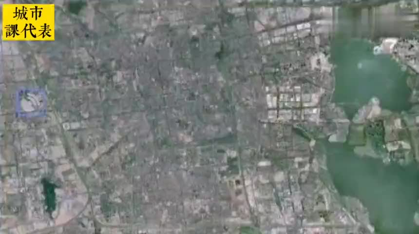 卫星地图看苏州近二万亿的GDP老城区真的不如县城吗