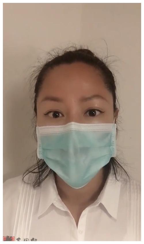 48岁瞿颖近照曝光皮肤黝黑 录视频向一线医务人员致敬