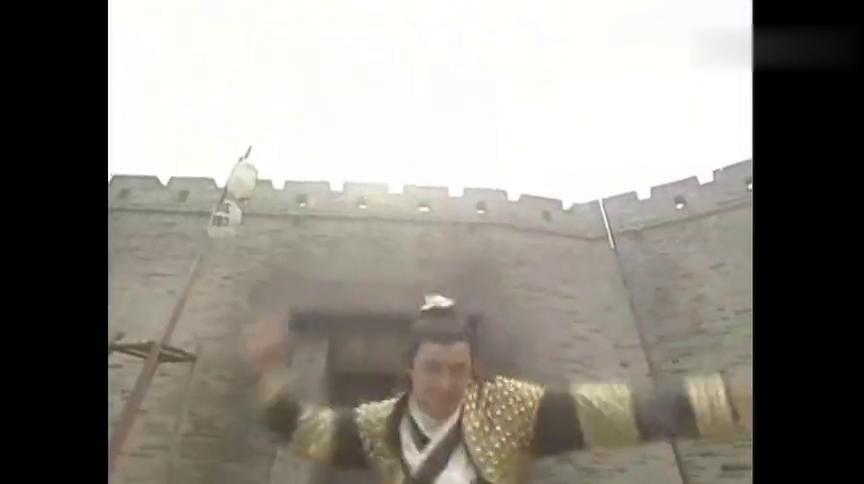 张卫健决战夺魄  为了破解摄心术蒙眼  凭感觉去对敌
