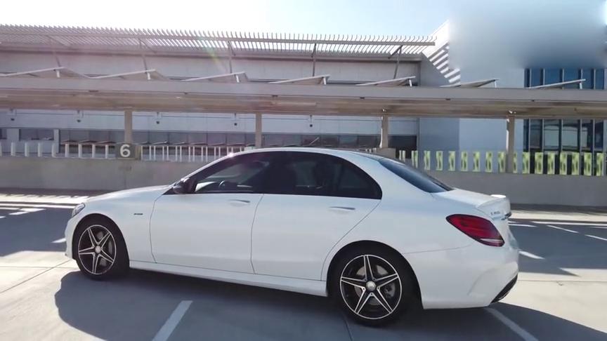 视频:大气优雅范儿实拍欣赏奔驰C级C450