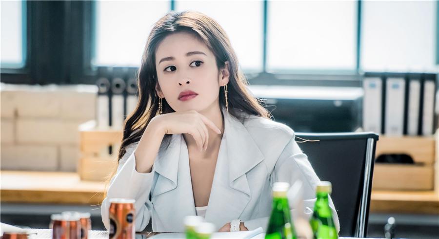 """颖儿新剧《乔安你好》首播 """"转型""""霸气制片人"""