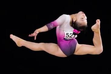 世界体操锦标赛,中日体操美女对比,日本选手超级可爱