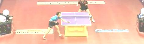 2015苏州世乒赛乒乓球比赛丹尼尔vs 阿卜杜拉