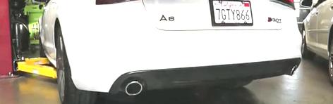 视频:奥迪 A6 AWE旅行车排气改装