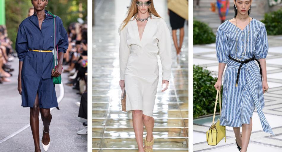 2020春夏女装连衣裙廓形趋势预测