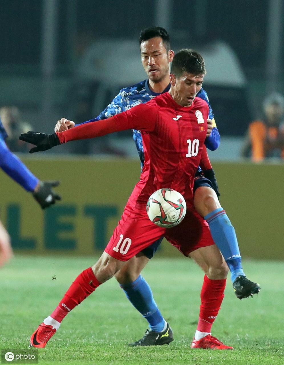 吉尔吉斯斯坦和日本之间的2022年世界杯预选赛