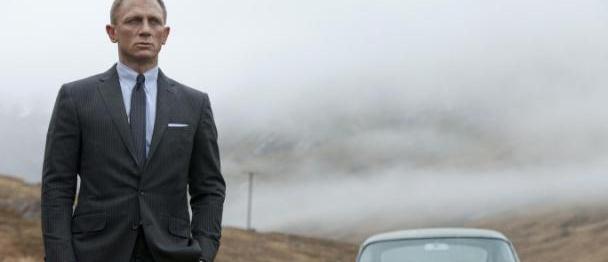 詹姆斯·邦德最新公布丹尼尔·克雷格饰演007的照片