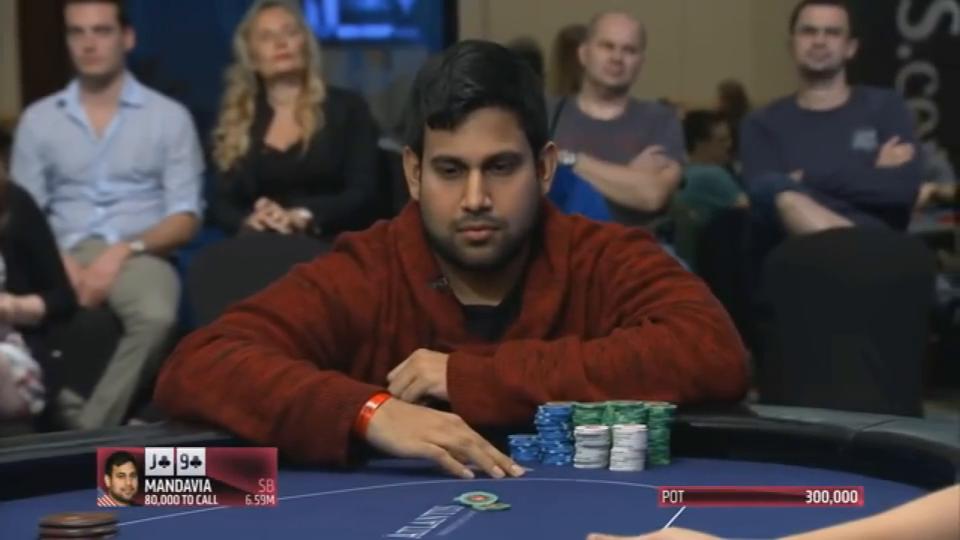德州扑克:输的不冤!没办法,河牌变顺子,输少已经算很走运了
