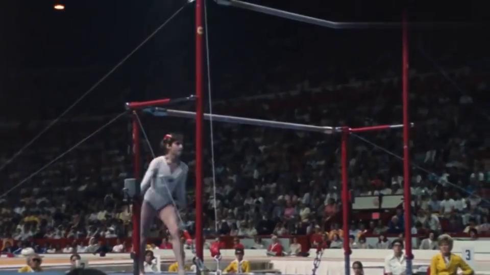 科马内奇那套满分的高低杠,一直都是体操界的传奇!