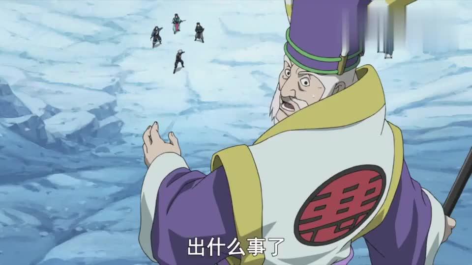 火影忍者旗木卡卡西五五开系列这也是唯一一次使用冰遁一角白鲸