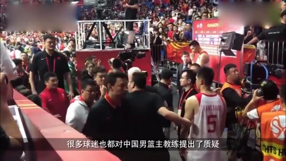 李楠为什么能当男篮主教练?来听听篮协主席姚明是怎么说的