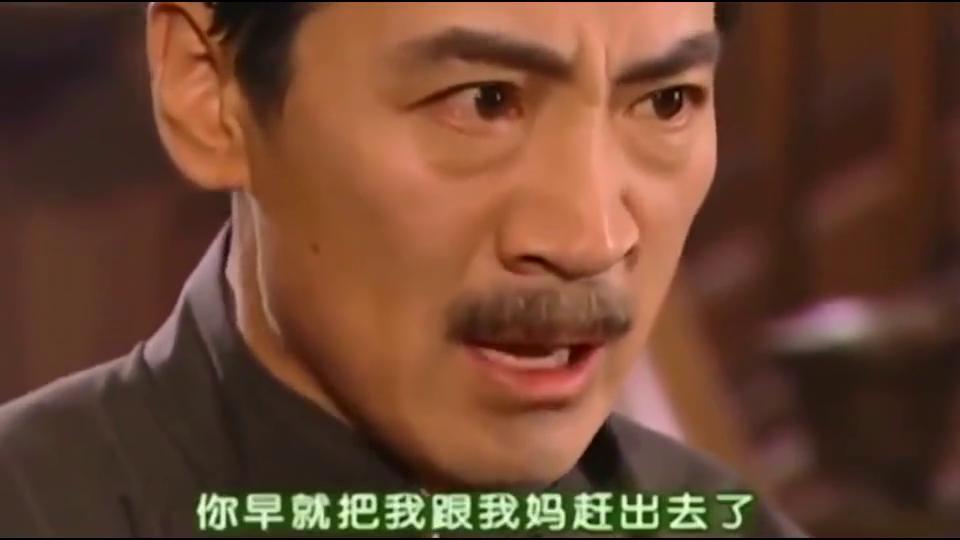 依萍顶撞了陆振华,直接马鞭伺候,这父亲太狠了,直接往脸上抽!