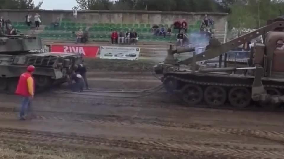 坦克与推土机谁的力气大结果让人意想不到