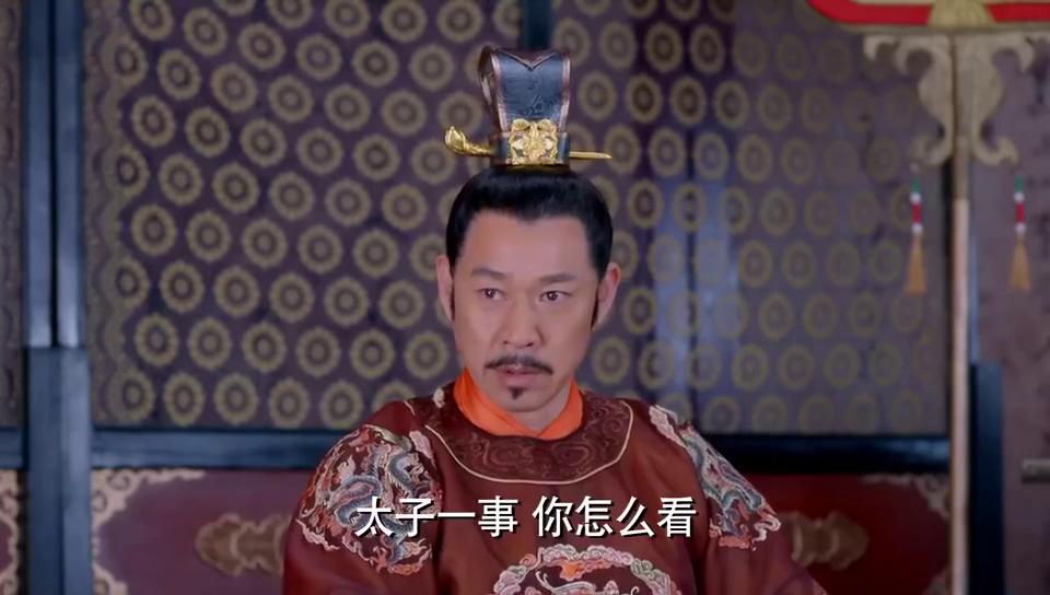 武媚娘传奇:李世民跟魏征谈话,魏征却盯着鹦鹉不放,果然是奇人