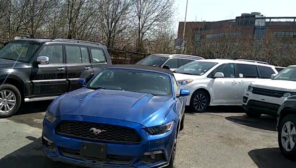 平行进口福特野马加规版最新报价29万起现车充足售全国