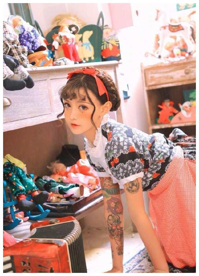韩安冉芭比娃娃写真,仙气又撩人