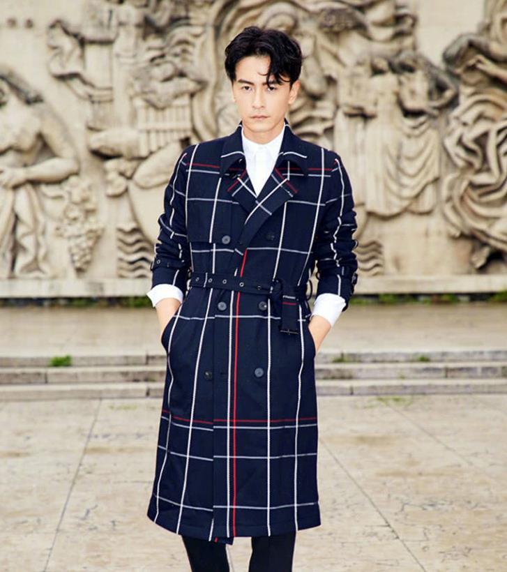 郑元畅时尚有型街拍美照,满屏的优雅绅士感