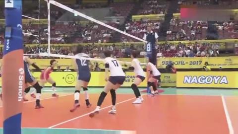 实况回顾:朱婷带领中国女排打了韩国15-0,制造了名古屋惨案!