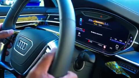 海外详尽展示分析,2020款奥迪S8豪华轿车