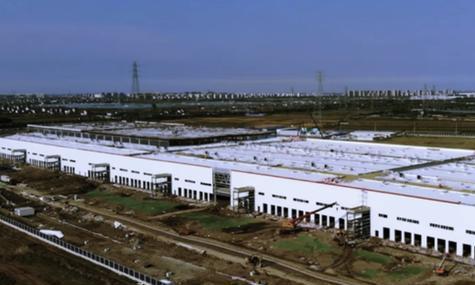 国产Model3即将上线,特斯拉上海工厂主体建筑基本完工