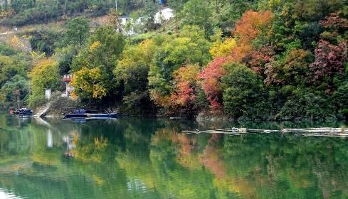 「十堰」房县的秋天美的如同一幅画!吸引国家画院师生前来采风