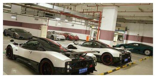 中国最土豪的一个小区,车库停的每辆车都价值不菲!