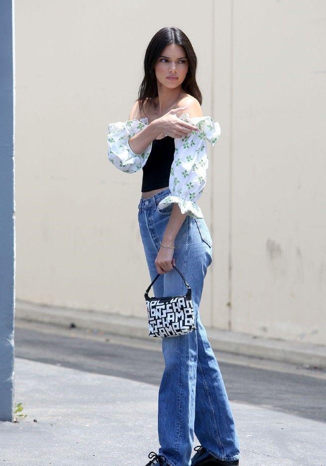 肯豆Kendall Jenner 外出街拍,行走的衣架