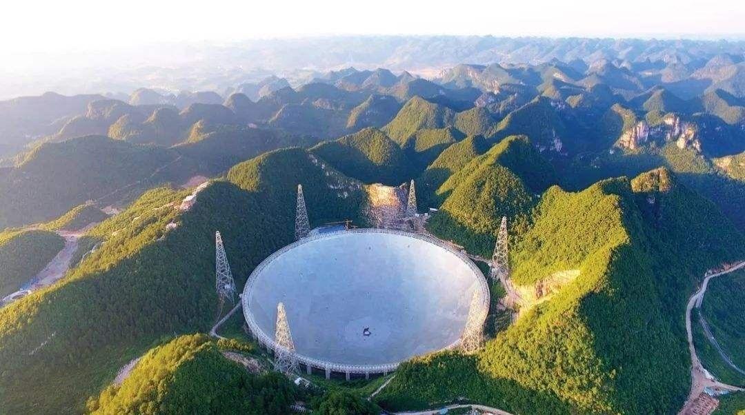 """中国的天眼:""""500米口径球面射电望远镜""""到底有多牛?"""