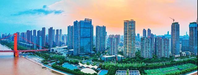 绝美!一眼望遍武汉5座长江大桥