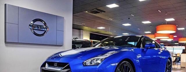 日产GT-R50纪念版车型海外到店实拍照,新车外形更具侵略性!