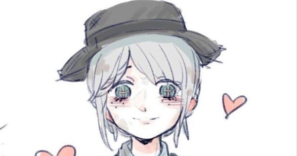 第五人格:艾玛长了萌萌的耳朵,慈善家赶紧把自己的帽子给艾玛戴图片