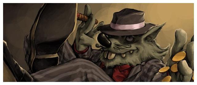 LOL老鼠有一句台词:我哥哥躲起来了,他的哥哥到底是谁?
