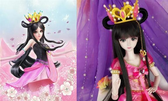 当叶罗丽仙子变成布娃娃,灵公主神还原,冰公主反而颜值下降了