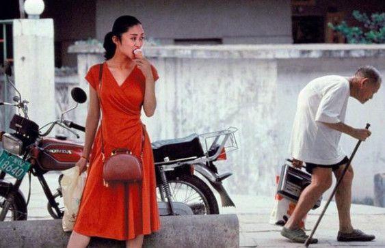 历史老照片:1995年的中国女性,潮流与美貌共存的年代