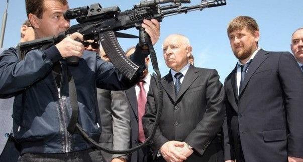 俄罗斯AK-200突击步枪