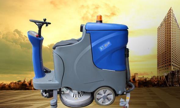 教你驾驶式洗地机如何操作日常保养